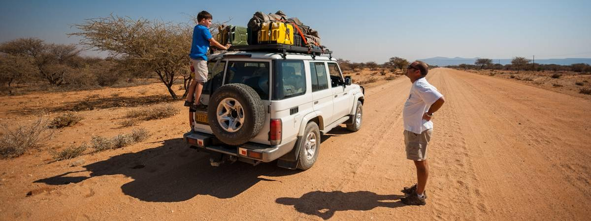 Getting Around Namibia